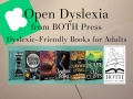 Open Dyslexia from BOTH Press – Dyslexic-Friendly Books for Adults