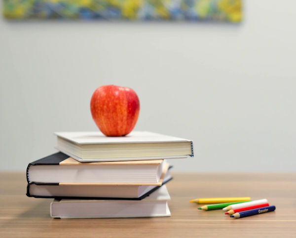 Apple on Books by Element5 Digital
