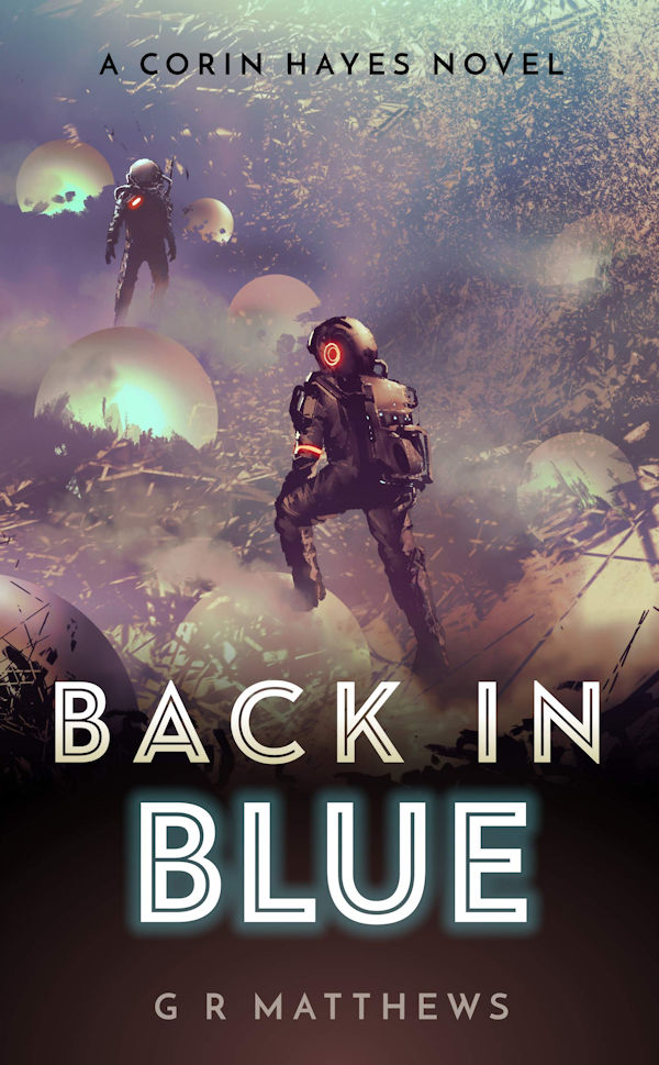 Back in Blue (cover)
