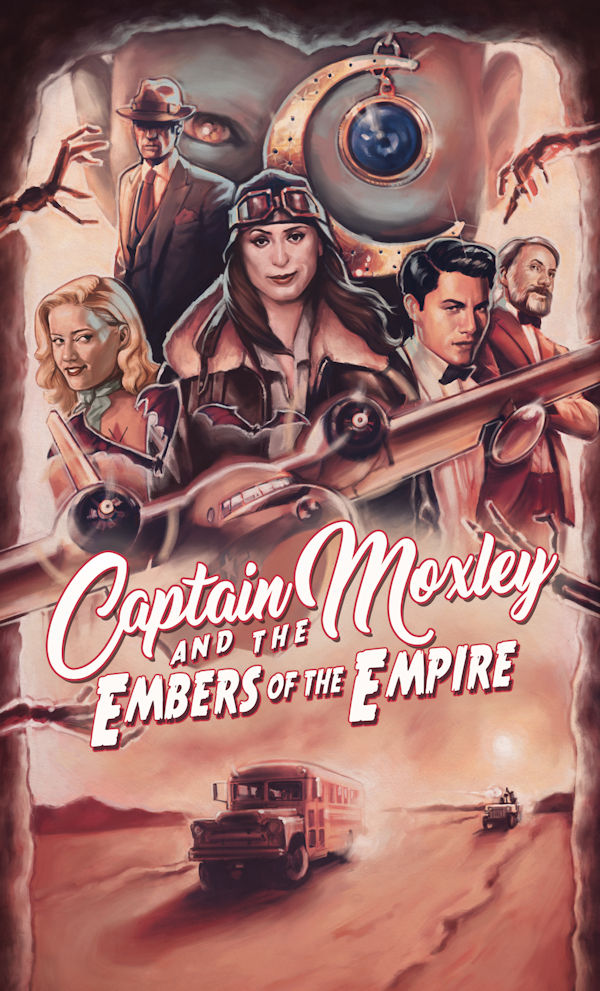 Captain Moxley and the Embers of the Empire (cover)