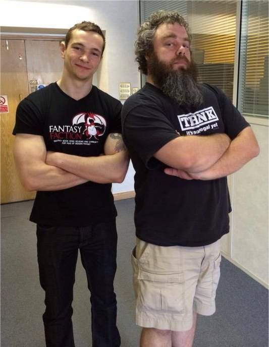 Marc Aplin and Patrick Rothfuss