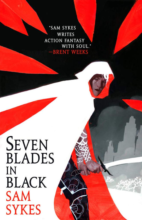 Seven Blades in Black (cover)
