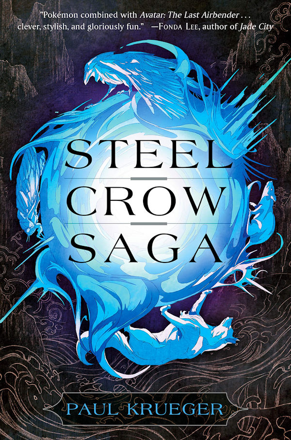 Steel Crow Saga (cover)