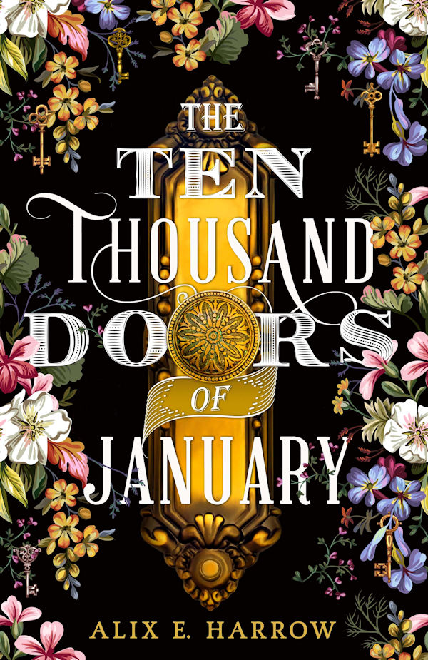 The Ten Thousand Doors of January (cover)