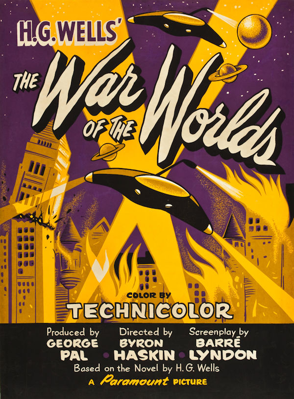 War of the Worlds (poster 1953)
