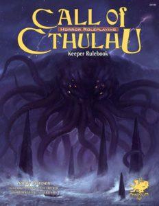 Call of Cthulhu Keep Rulebook (cover)