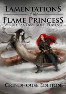 Lamentations of the Flame Princess (cover)