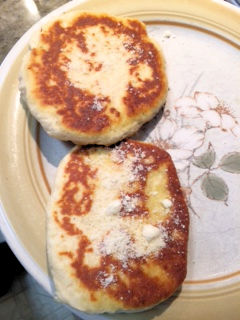 Garlic Griddle Bread