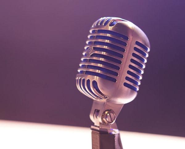 Microphone by Matt Botsford (detail)
