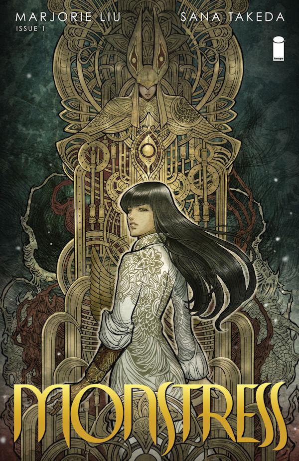 Monstress, Volume 1 - Awakening (cover)