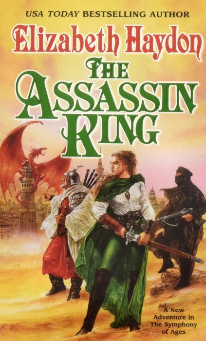 The Assassin King (cover)