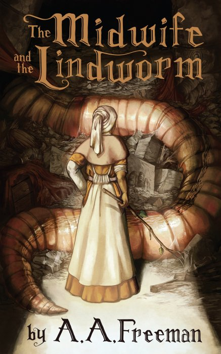 The Midwife and the Lindworm (cover)