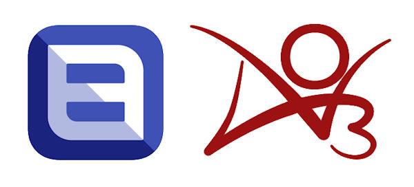 AO3 & FanFic (logo)