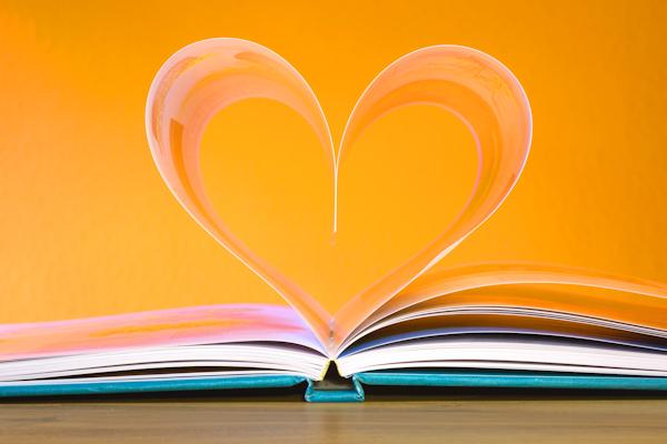 Book Heart by Hermann Traub (detail)