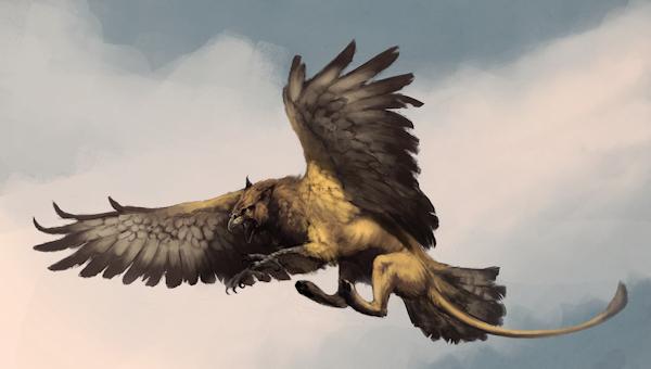 Griffin by Woari