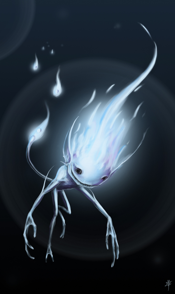 Will-o-the-wisp by rob-powell