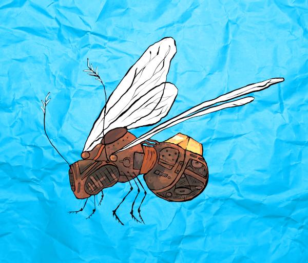 The Clockwork Bee by incanus_arts (detail)