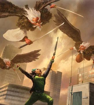 Hero - Combat (detail)
