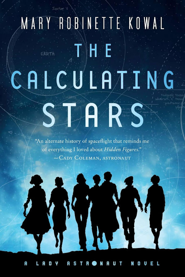 The Calculating Stars (cover)