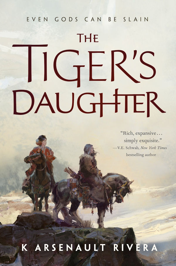 The Tiger's Daughter (cover)